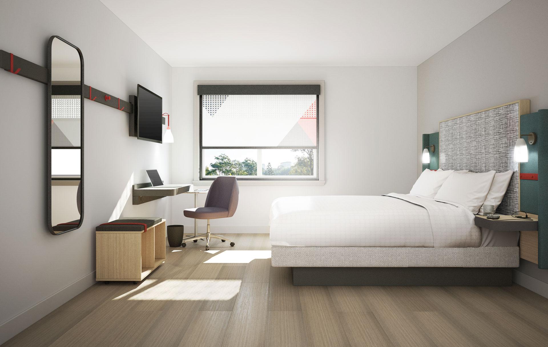 avid Hotels bedroom