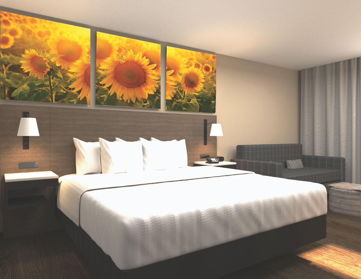Days Inn Canada hotel bed