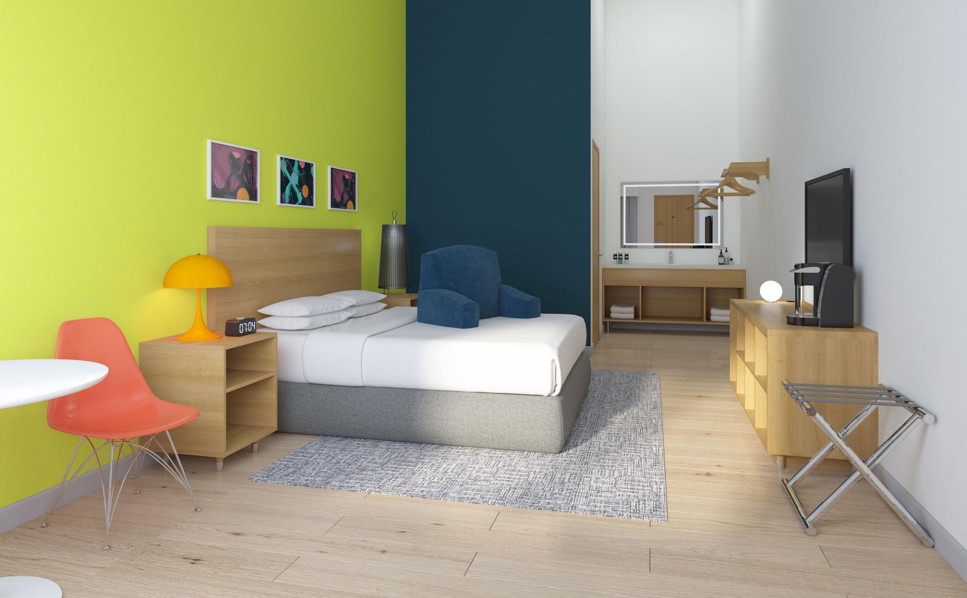 Signature Inn bedroom