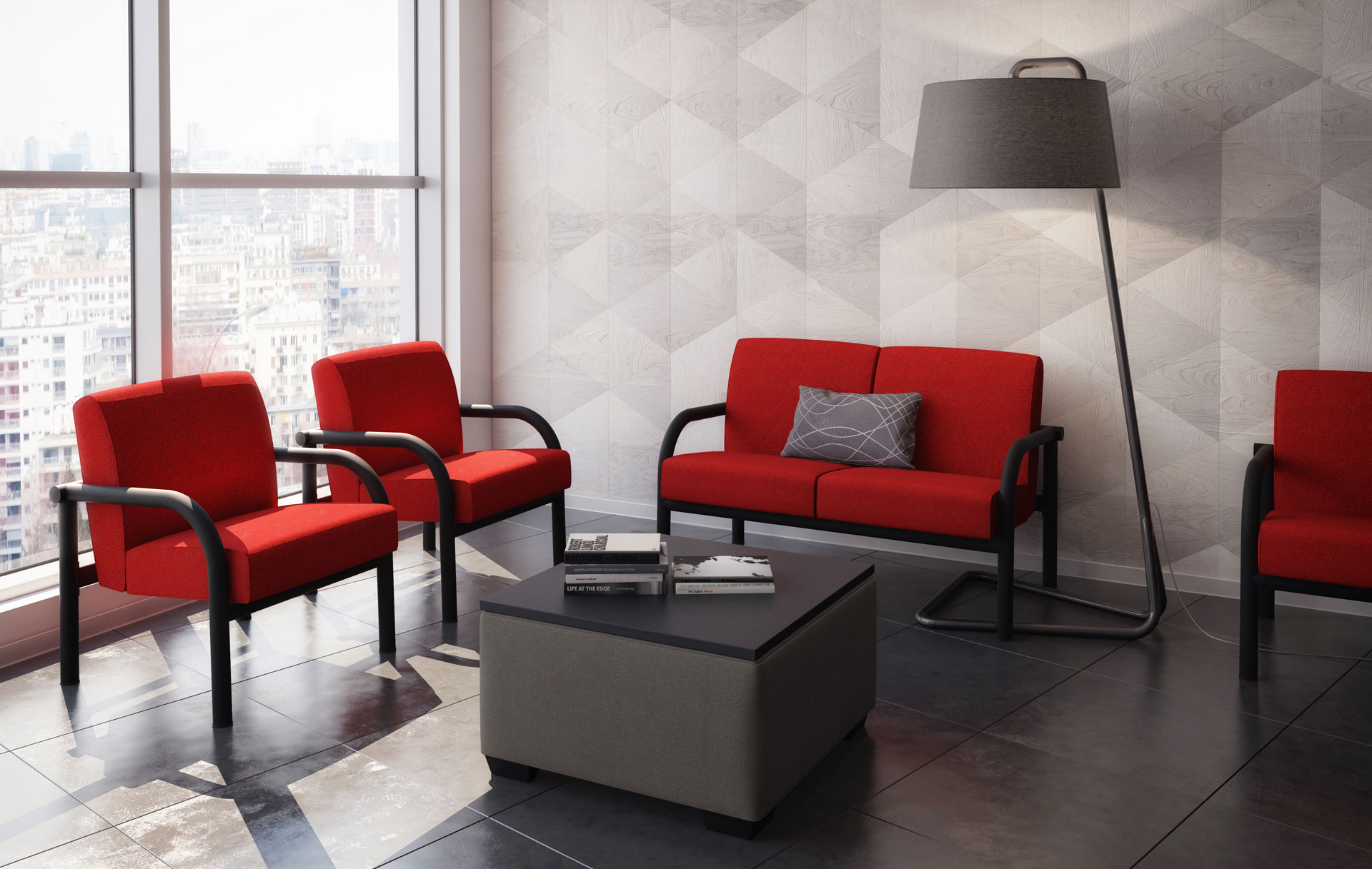 Modern soft seating collection