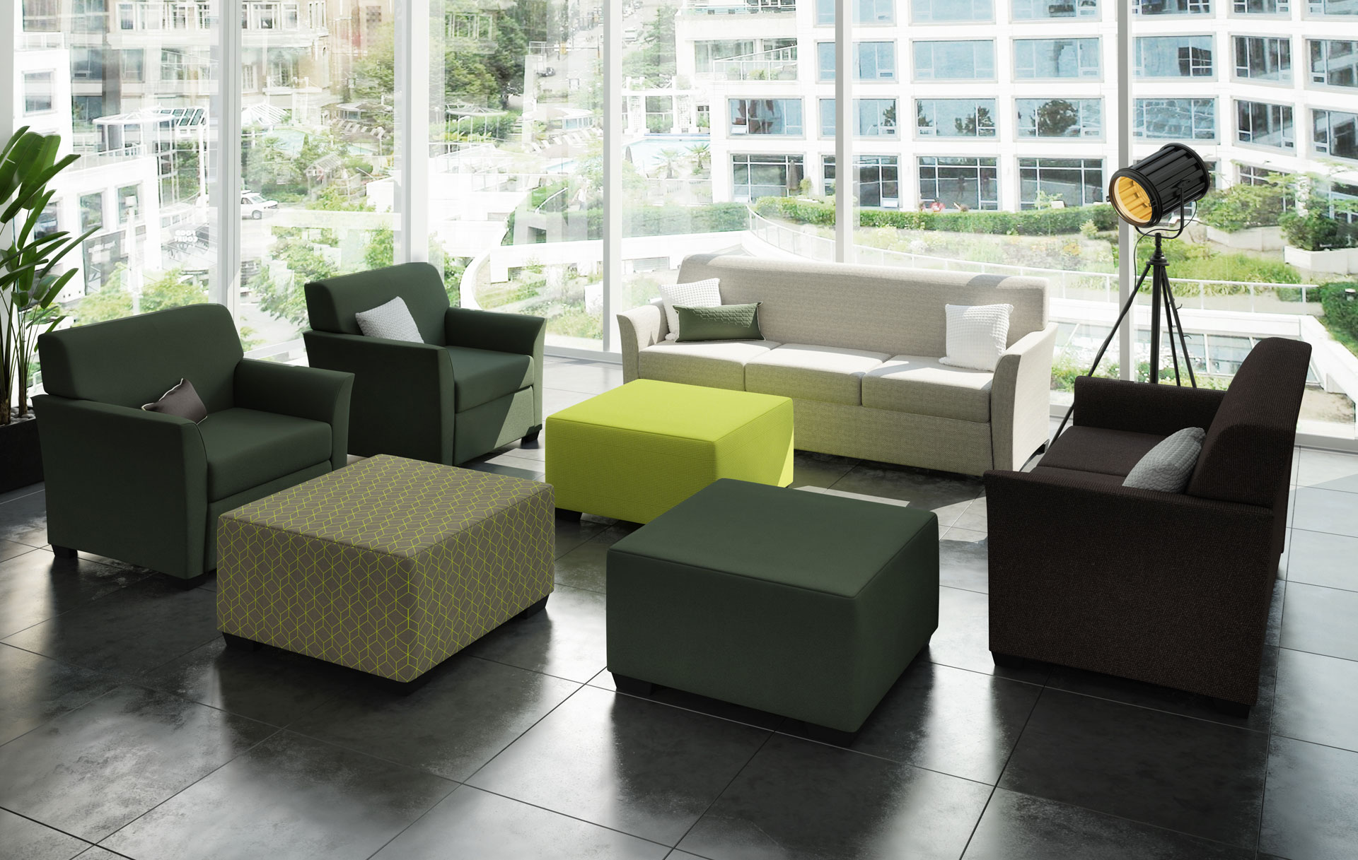 Logan soft seating collection